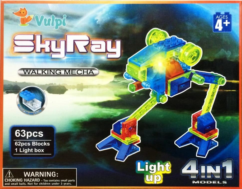 Светодиодный конструктор 4 в 1 Sky Ray Марсоход