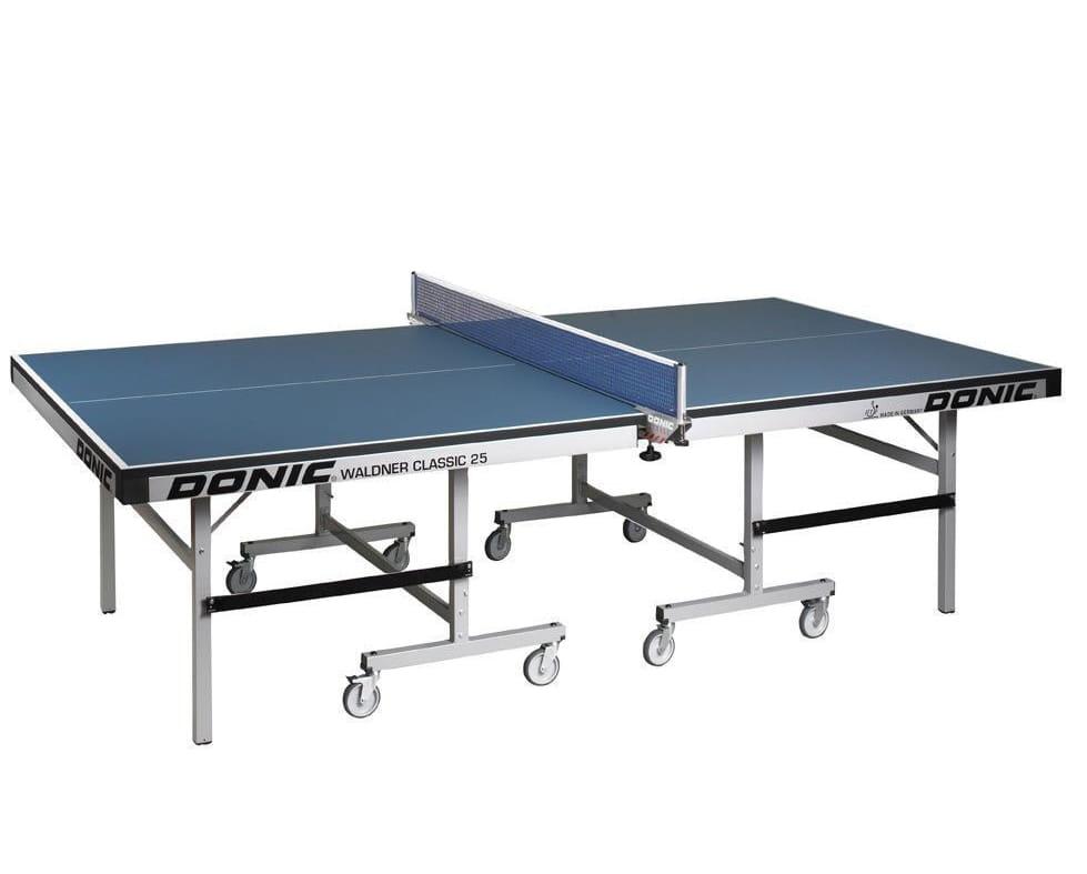 Теннисный стол без сетки Donic Waldner Classic 25 мм  синий - Теннисные столы