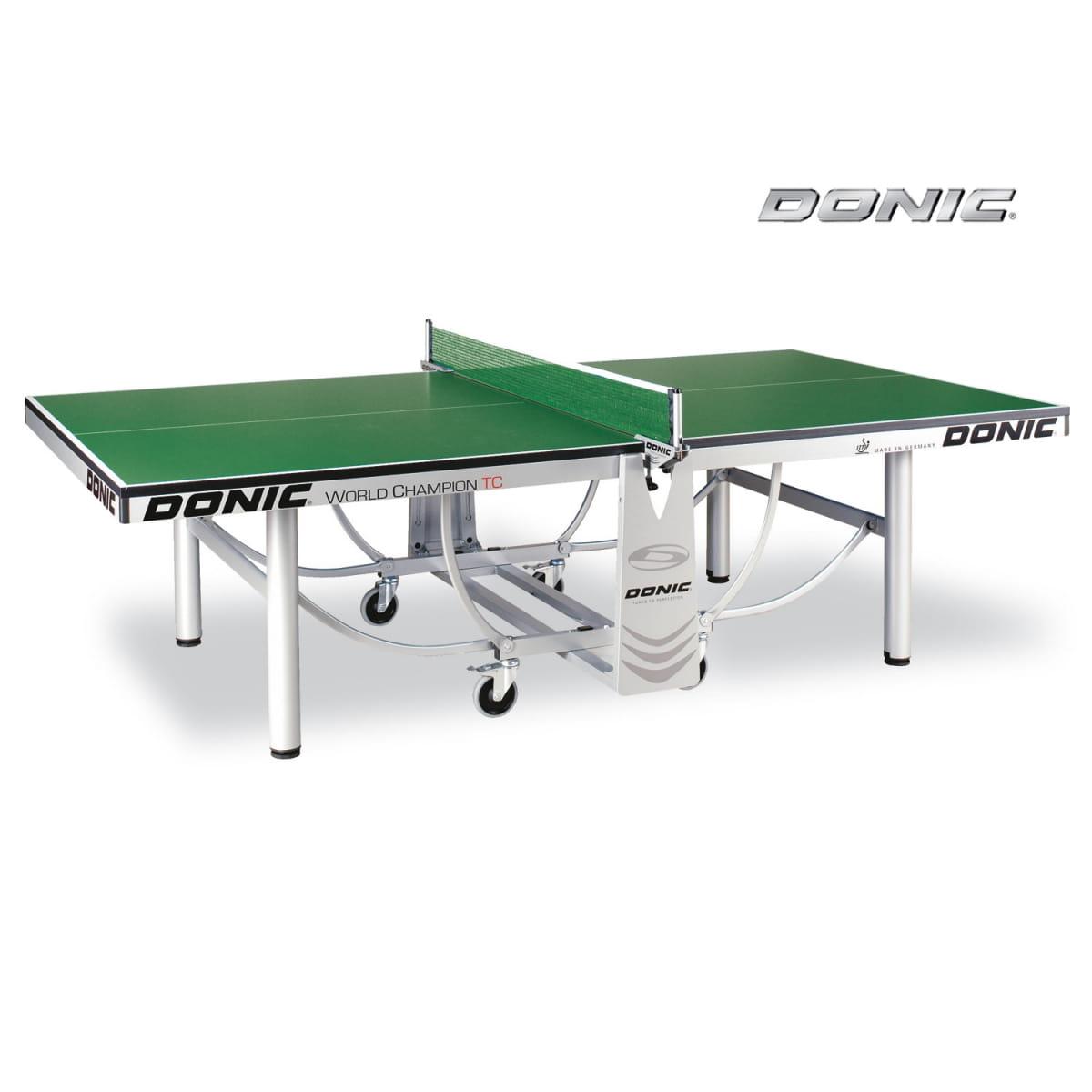 Антивандальный теннисный стол Donic 230236-G Outdoor Premium 10 мм - зеленый