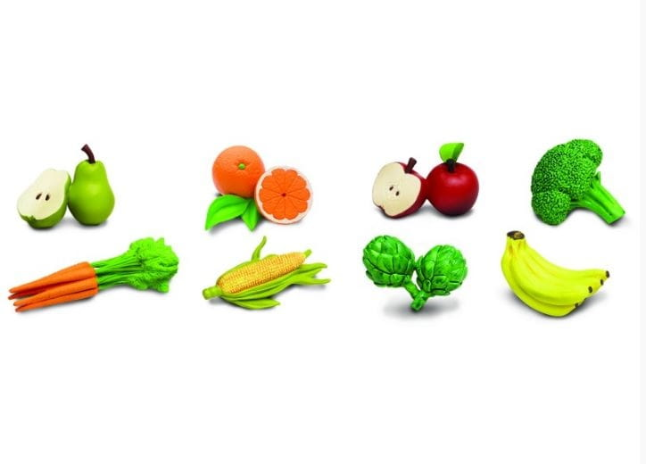 Набор Safari 688304 Фрукты и овощи - 8 штук