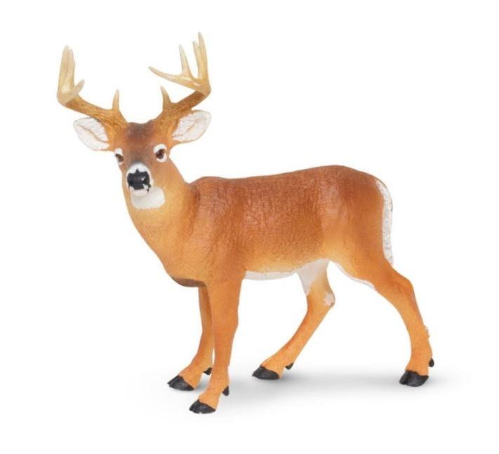 Фигурка Safari 180029 Белохвостый олень (самец)