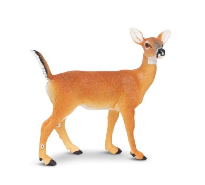 Фигурка Safari 180129 Белохвостый олень (самка)