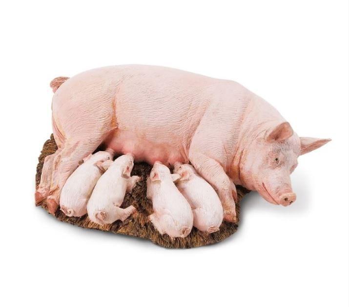 Фигурка Safari 235929 Свинья с поросятами