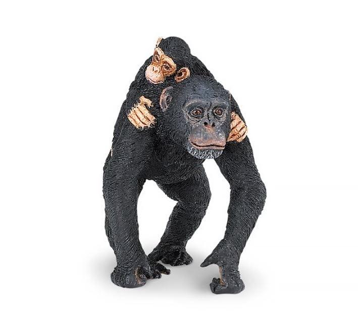 Фигурка Safari 295929 Шимпанзе с малышом