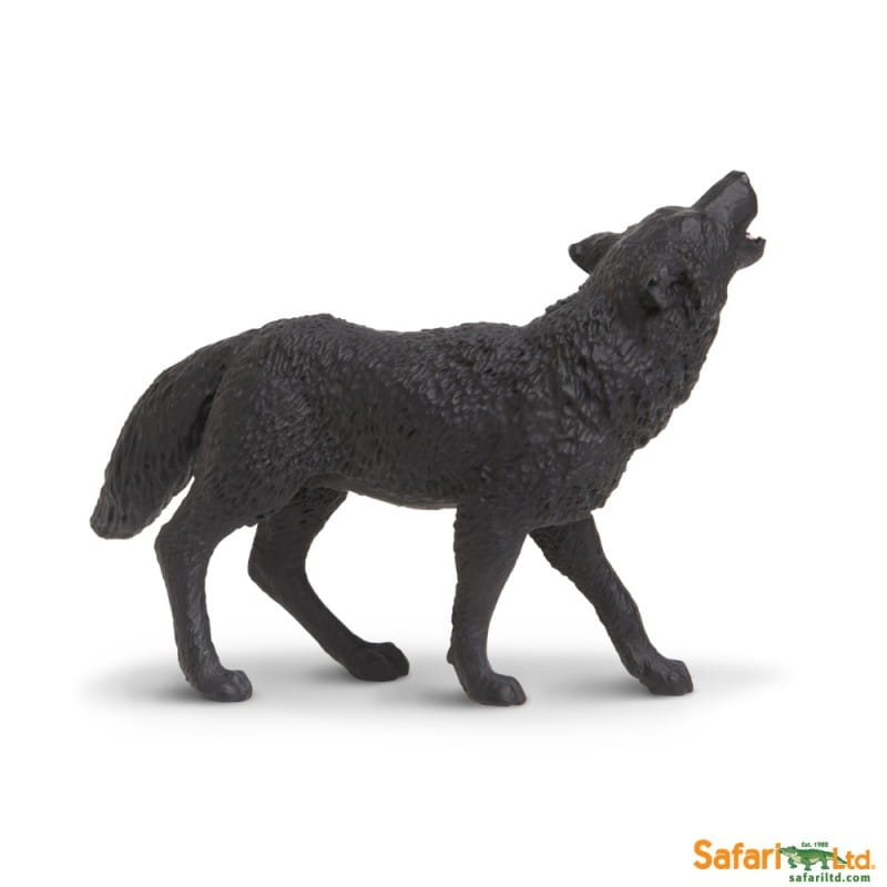 Фигурка Safari 181129 Черный волк