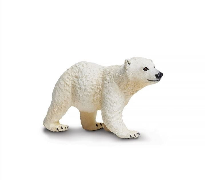 Фигурка Safari 273429 Белый медвежонок