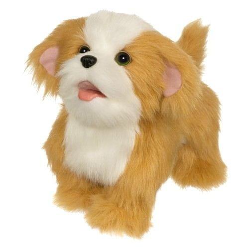 Купить Интерактивный ходячий щенок FurReal Friends - рыжий с белым (Hasbro) в интернет магазине игрушек и детских товаров