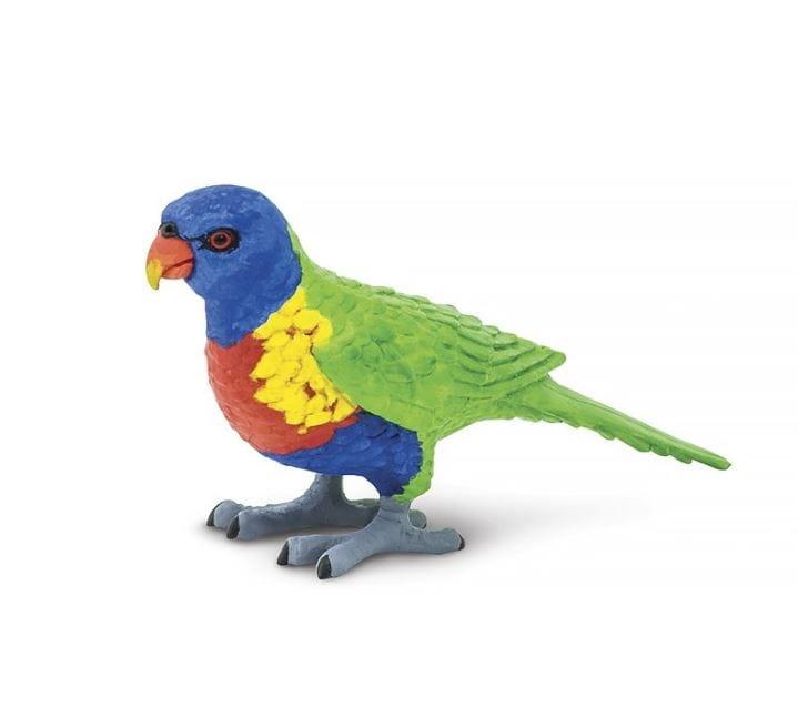 Фигурка Safari 150229 Попугай Многоцветный лорикет