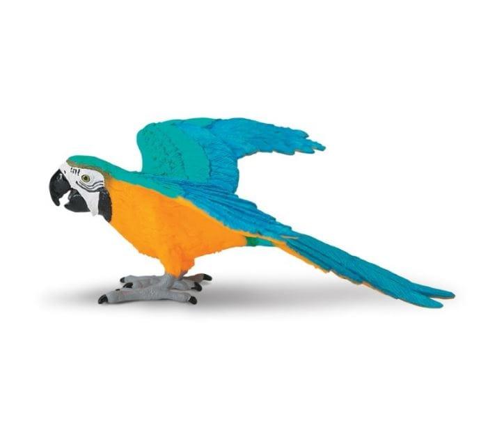Фигурка Safari 264029 Попугай Сине-желтый ара