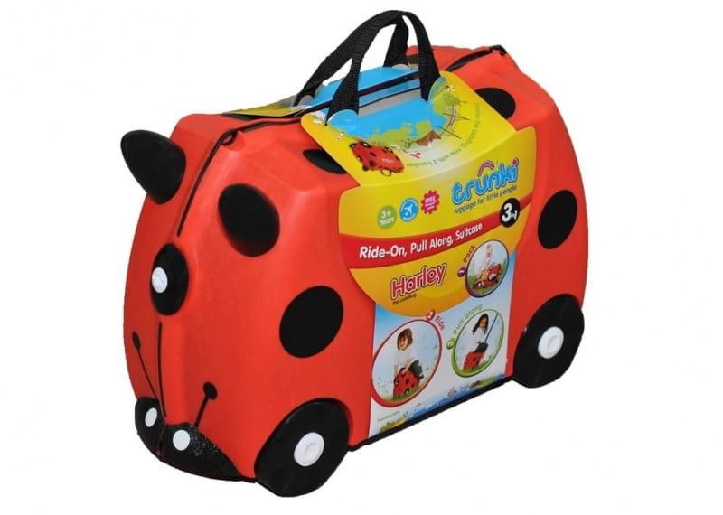 Детский чемоданчик TRUNKI Божья коровка