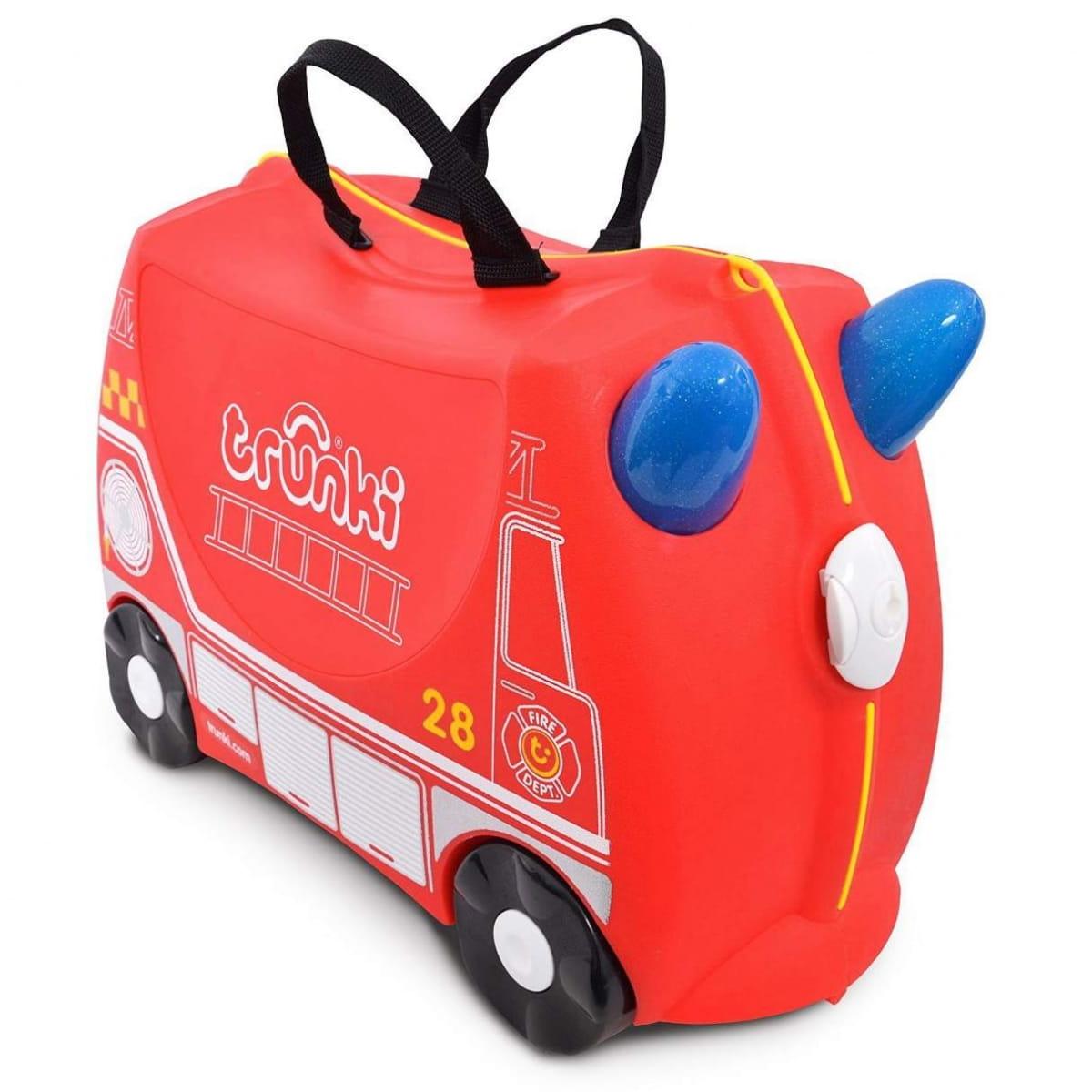 Детский чемоданчик TRUNKI Пожарный Фрэнк