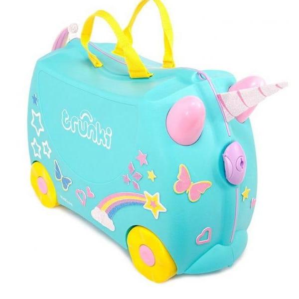 Детский чемоданчик TRUNKI Единорог Уна - Детские чемоданы