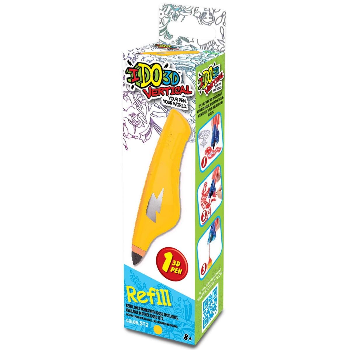 Картридж для 3D ручки Redwood 156019 Вертикаль - желтый