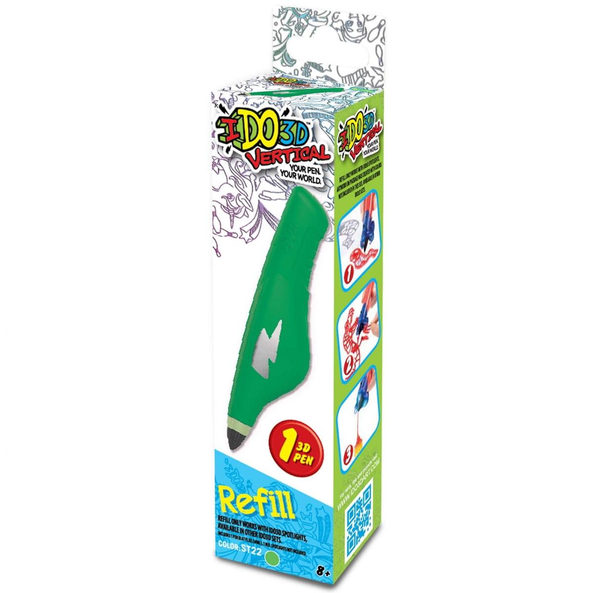 Картридж для 3D ручки Redwood 156020 Вертикаль - зеленый