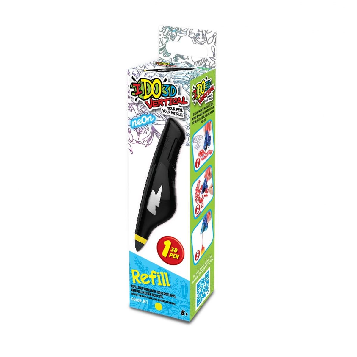 Картридж для 3D ручки Redwood 166012 Вертикаль - неоновый желтый