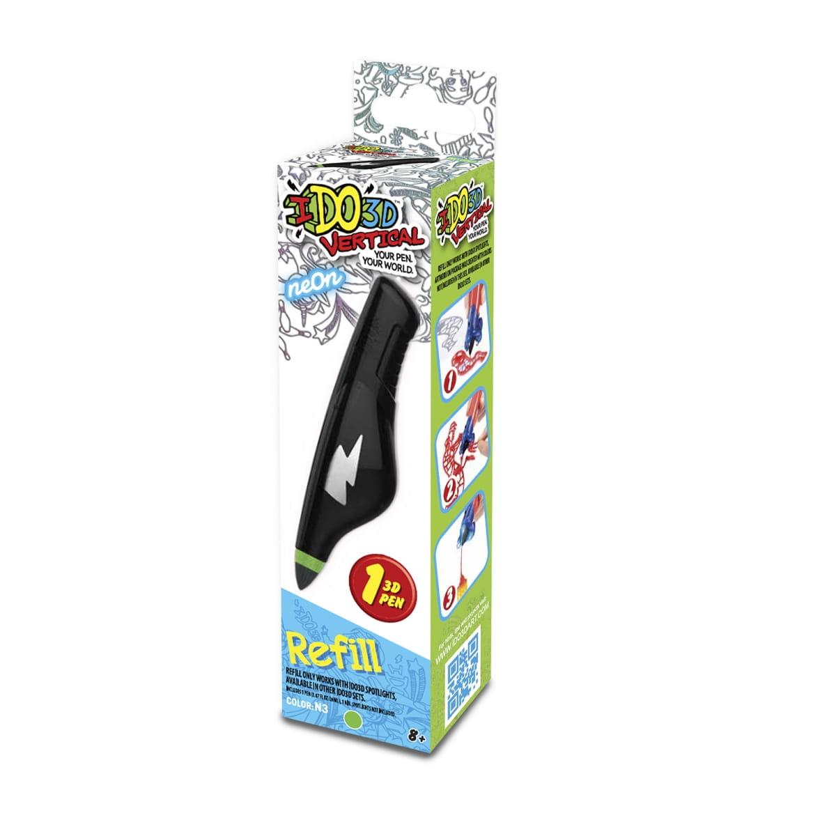 Картридж для 3D ручки Redwood 166014 Вертикаль - неоновый зеленый