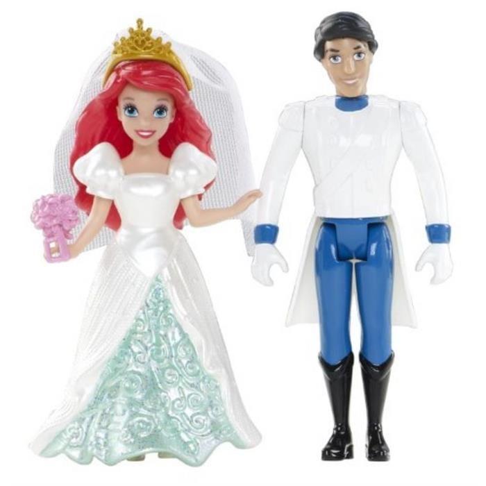 Игровой набор Disney Princess BDJ68/BDJ67 Свадебная пара - Ариэль и Эрик (Mattel)