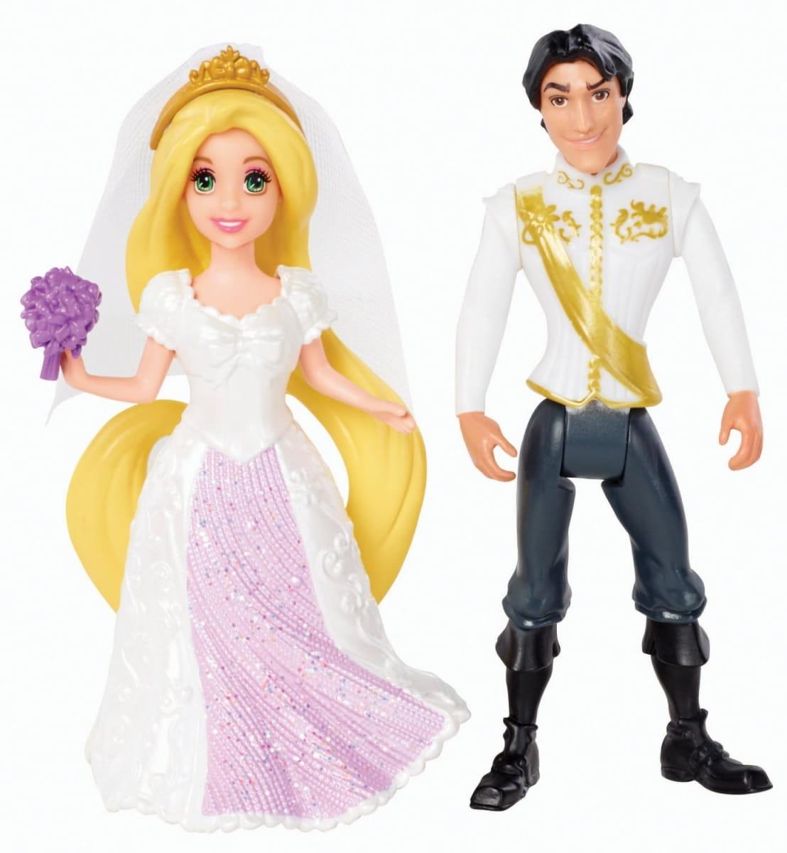 Игровой набор Disney Princess BDJ70/BDJ67 Свадебная пара - Рапунцель и Флин (Mattel)