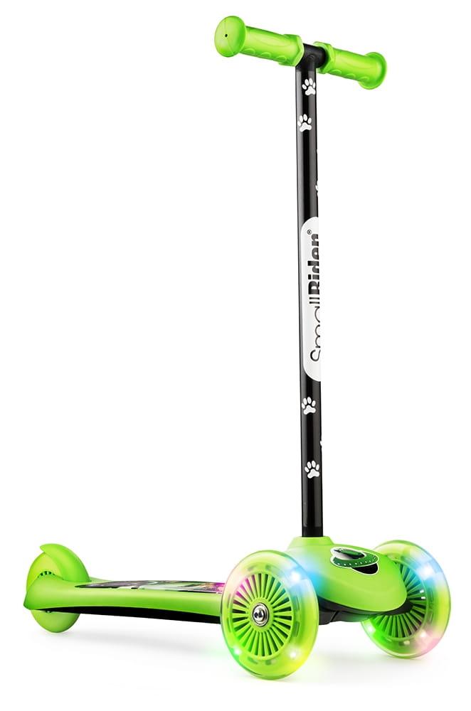 Самокат Small Rider 1373174 2 в 1 Cosmic Zoo Scooter Flash - зеленый