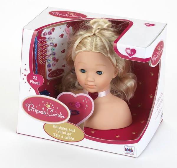 Кукла-торс для причесок Klein 5204 Princess Coralie - 25 см