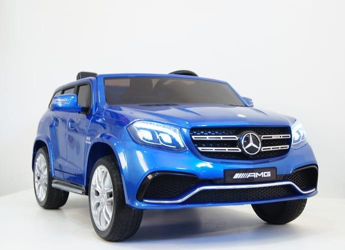 Двухместный полноприводный электромобиль River Toys Mercedes-Benz GLS63 4WD - Электромобили