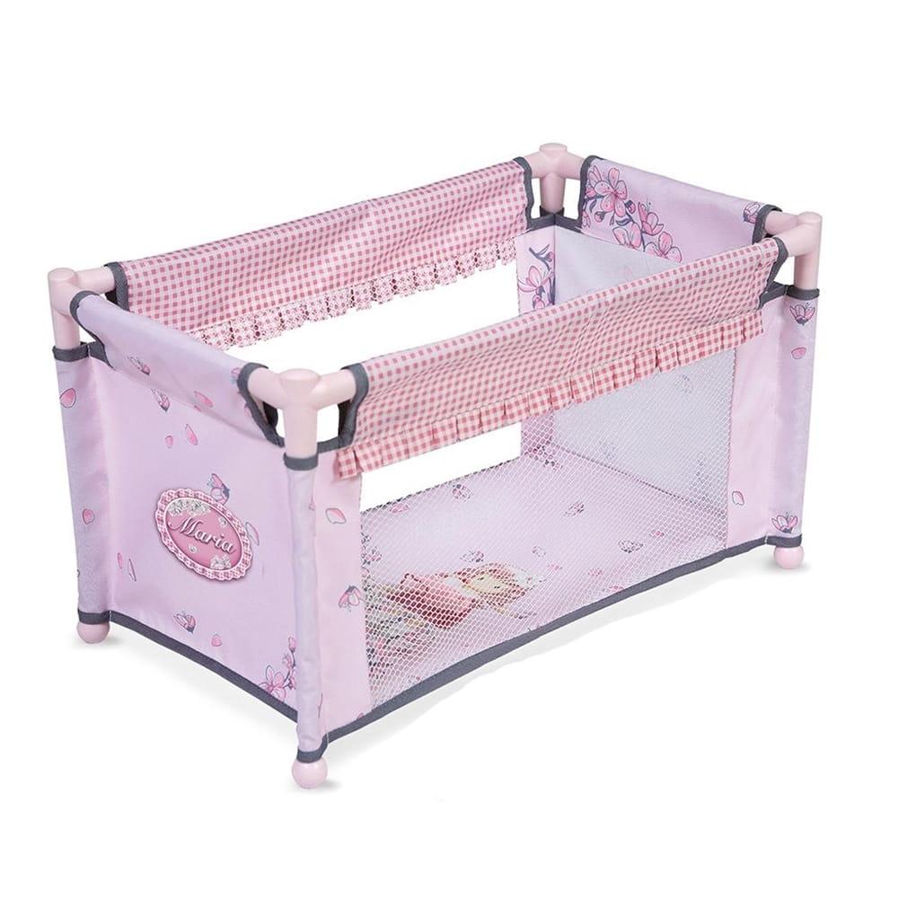 Манеж-кроватка для кукол Decuevas 50017 Мария