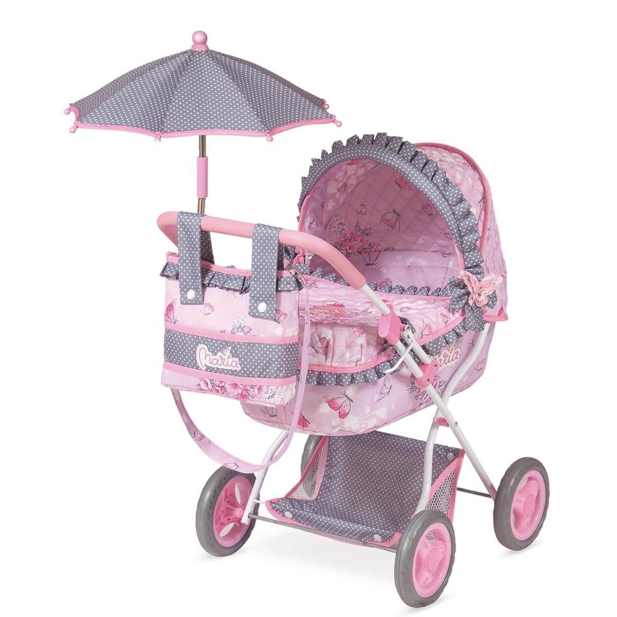 Коляска для кукол Decuevas 85017 Мария - 65 см (с сумкой и зонтиком)