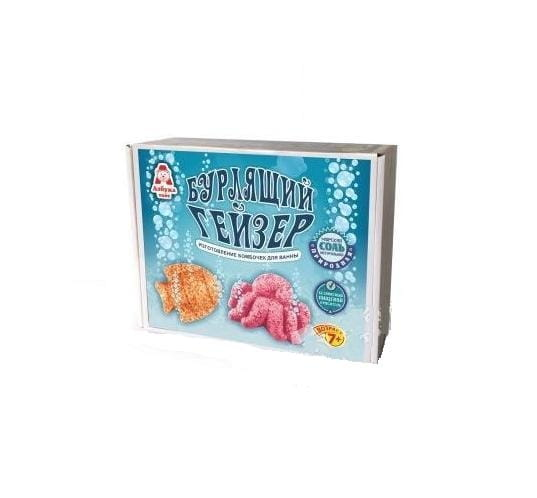Набор для творчества Азбука Тойс БГ-0002 Бурлящий гейзер - Осьминог и рыбка