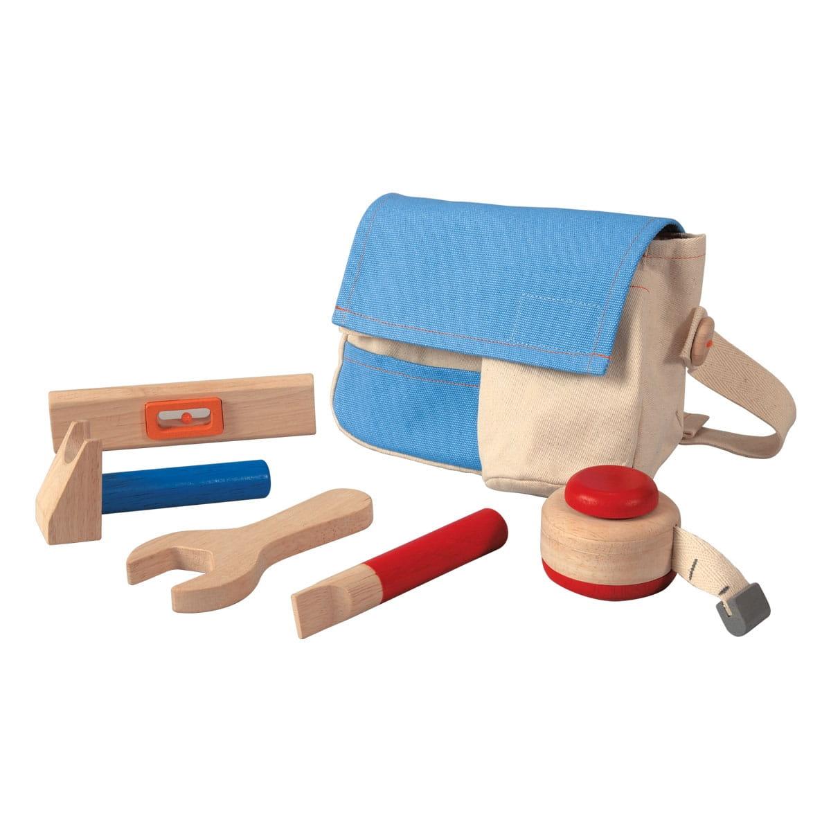 Набор инструментов PLAN TOYS в сумке - Инструменты