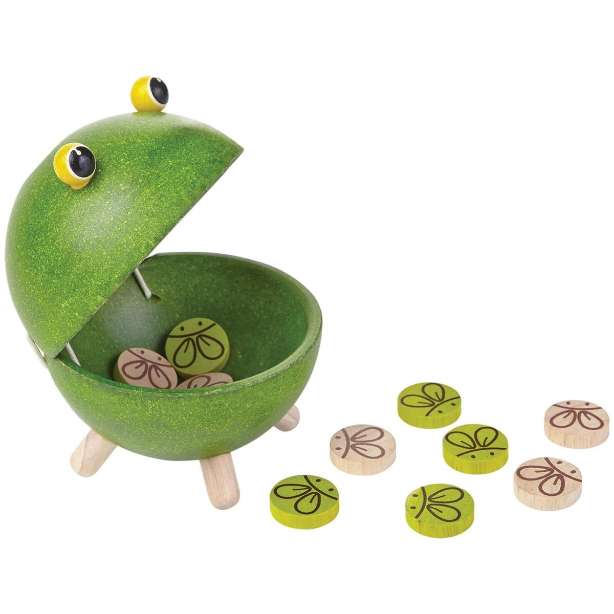 Развивающая игра Plan Toys Лягушка