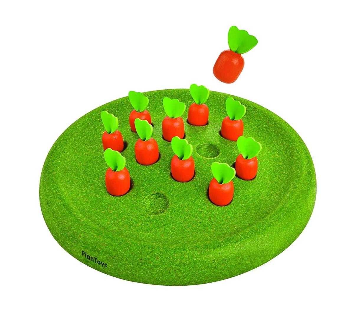 Развивающая игра Plan Toys 4621 Солитер Морковки
