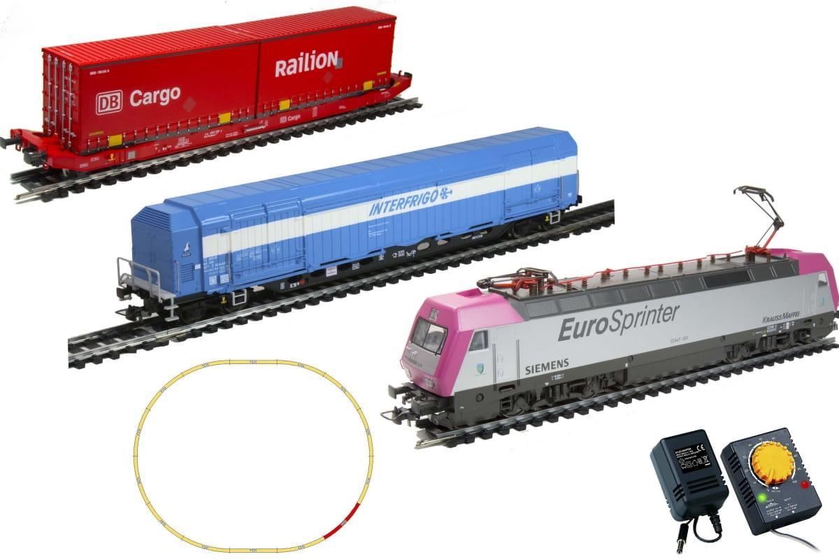 Железная дорога MEHANO Prestige Eurosprinter Siemens - Железные дороги