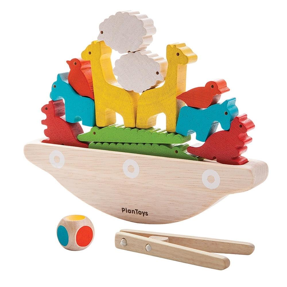 Настольная игра Plan Toys Балансирующая лодка