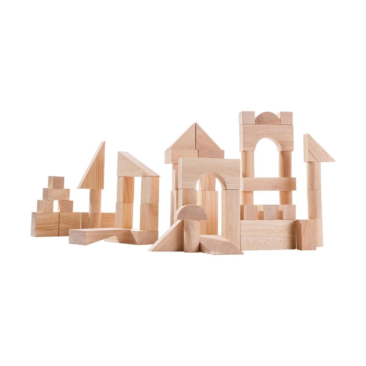 Игровой набор Plan Toys 5502 50 кубиков