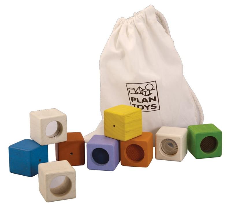 Конструктор Plan Toys 5531 Активные блоки (9 деталей)