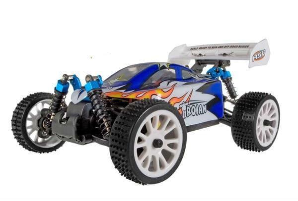 Купить Радиоуправляемая багги HSP Troian 4WD 1:16 в интернет магазине игрушек и детских товаров