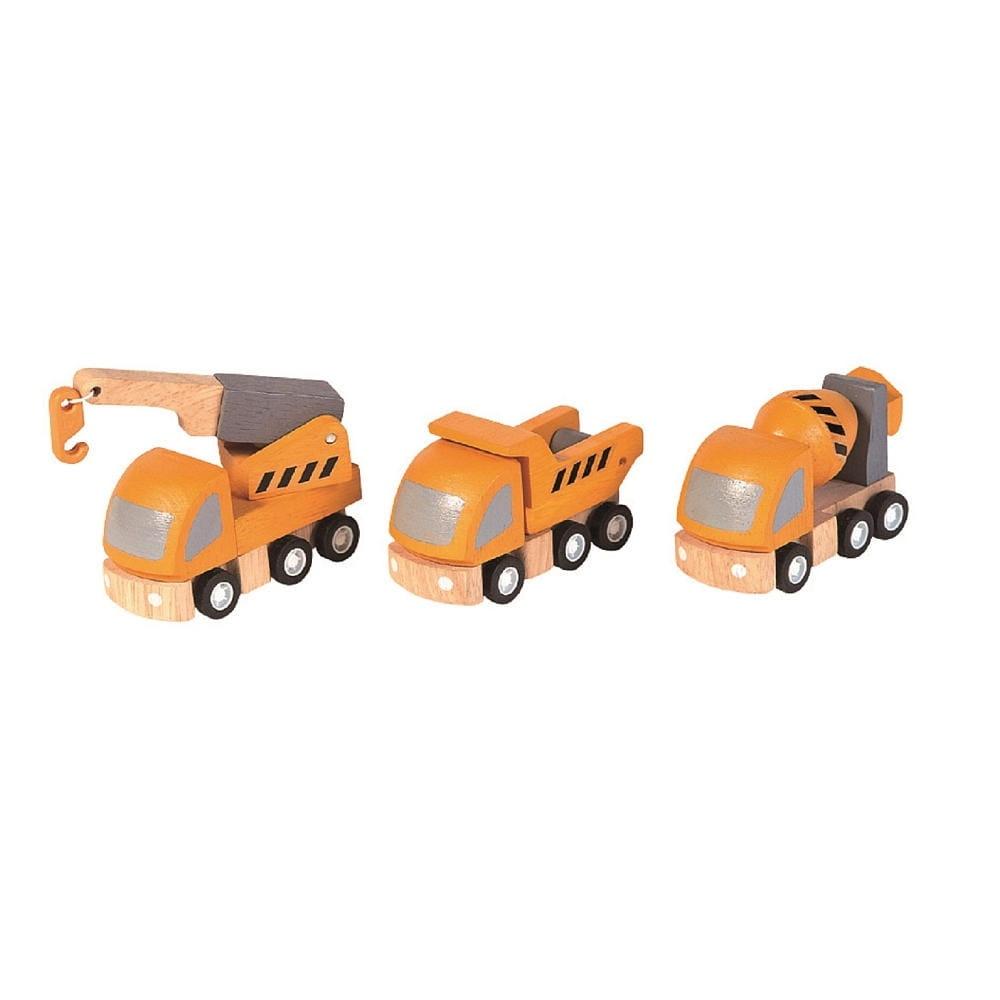Игровой набор Plan Toys 6047 Спецтранспорт