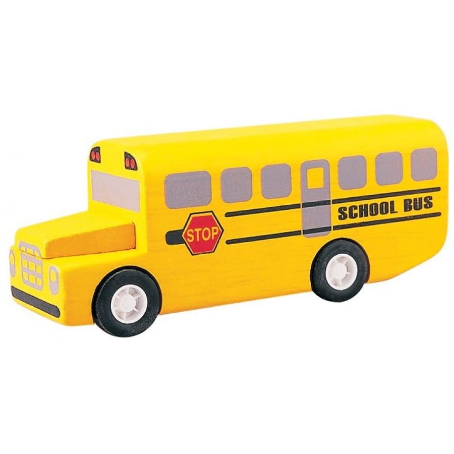 Игровой набор Plan Toys 6049 Школьный автобус