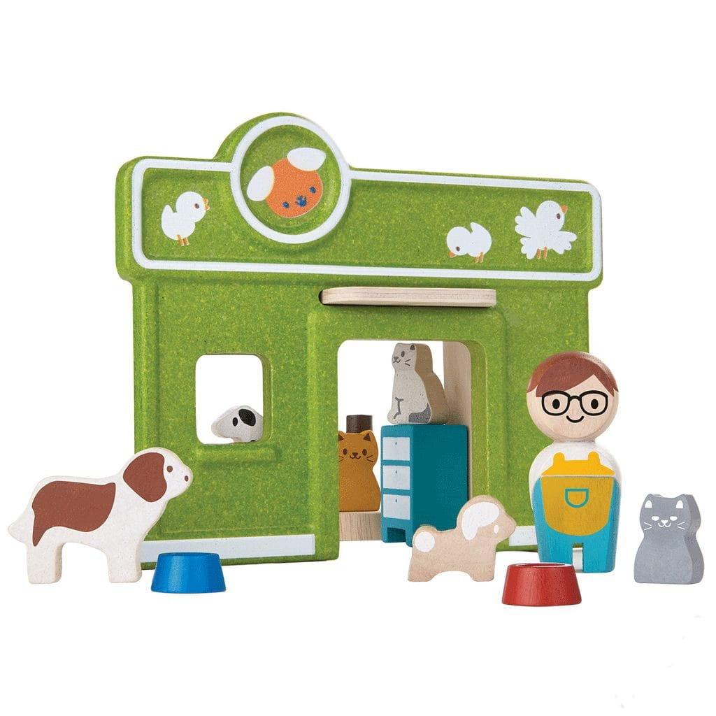 Игровой набор Plan Toys 6616 Ветеринарная клиника