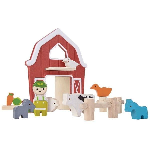 Игровой набор Plan Toys 6618 Ферма
