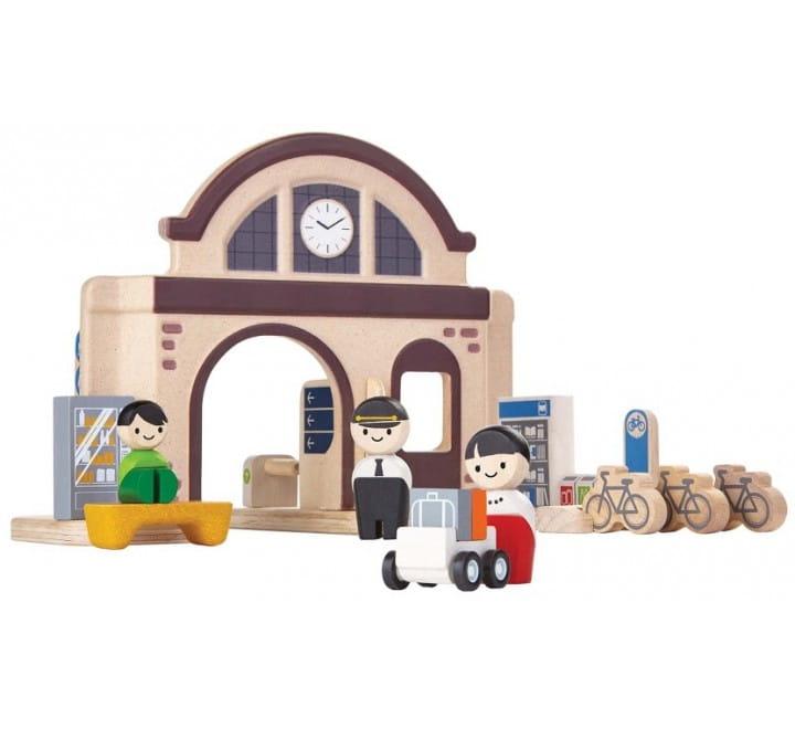 Игровой набор Plan Toys 6620 Вокзал