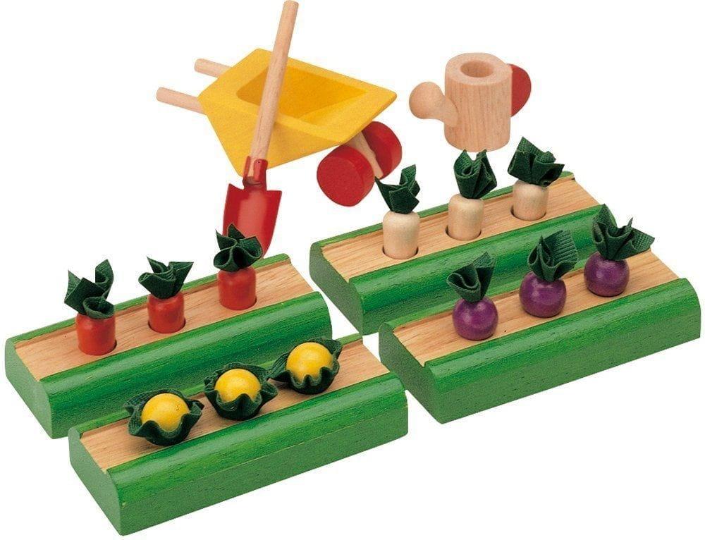 Игровой набор Plan Toys 9844 Овощные грядки