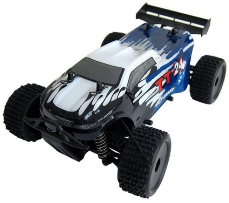 Радиоуправляемая трагги HSP 94243-24393 Electric Powered Truggy TT24 2.4G 1:24 - синий