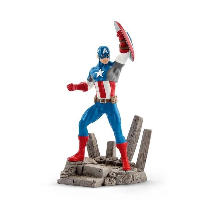 Фигурка SCHLEICH Marvel Марвел Капитан Америка - Супергерои Марвел