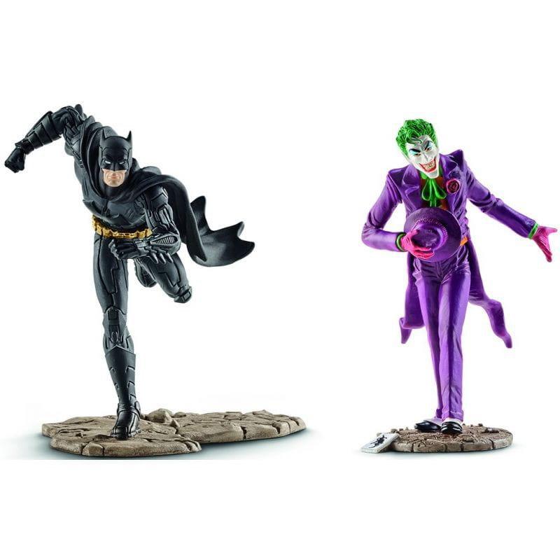 Набор фигурок SCHLEICH Бэтмен и Джокер - Супергерои Марвел