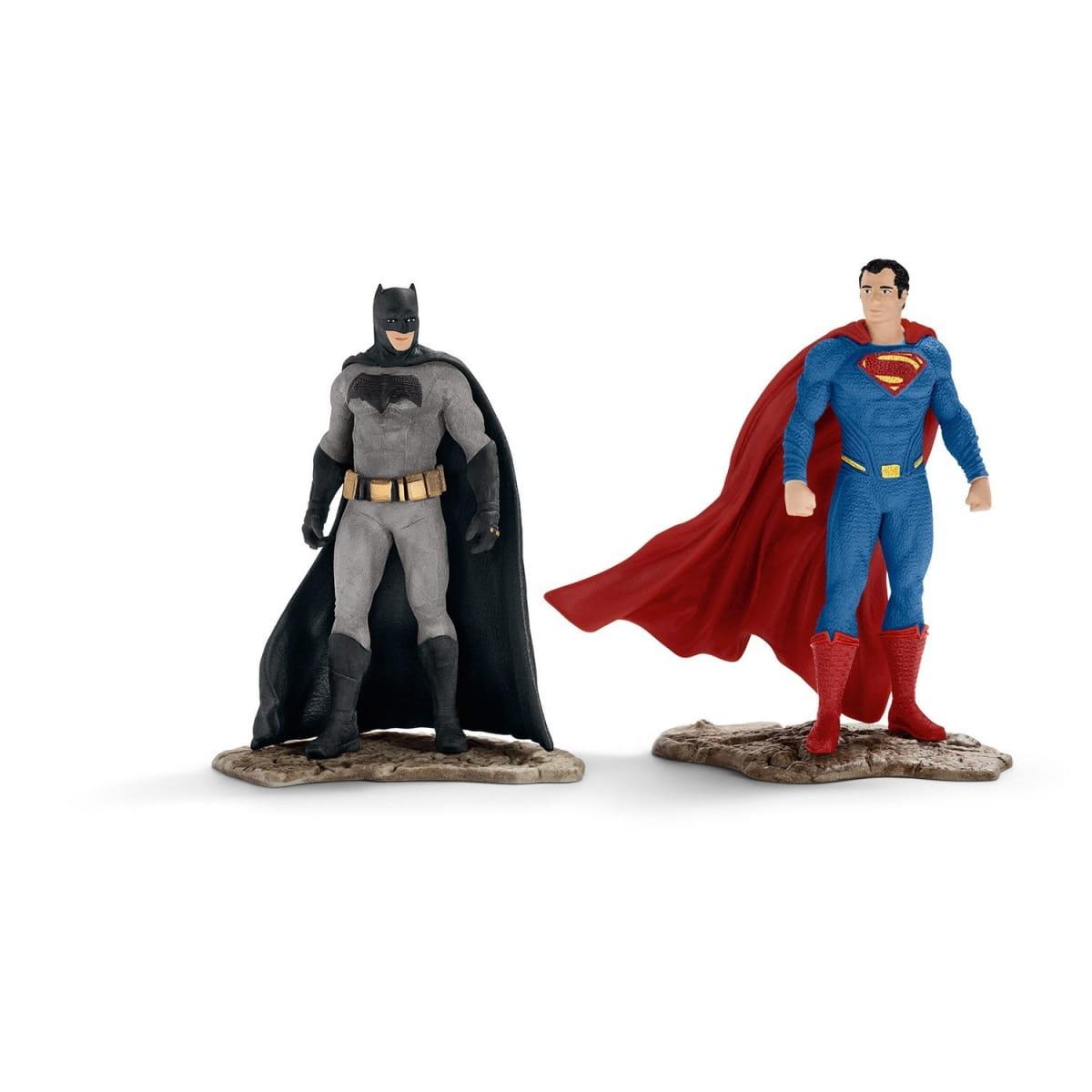 Набор фигурок Schleich 22529 Герой комиксов - Бэтмэн и Супермен