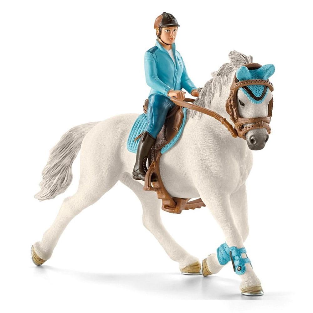 Набор Schleich 42111 Всадница с лошадью Райдер Турнир
