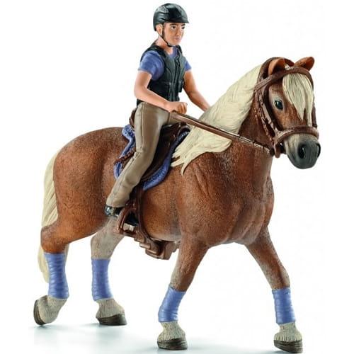 Набор Schleich 42113 Всадник с лошадью Прогулка