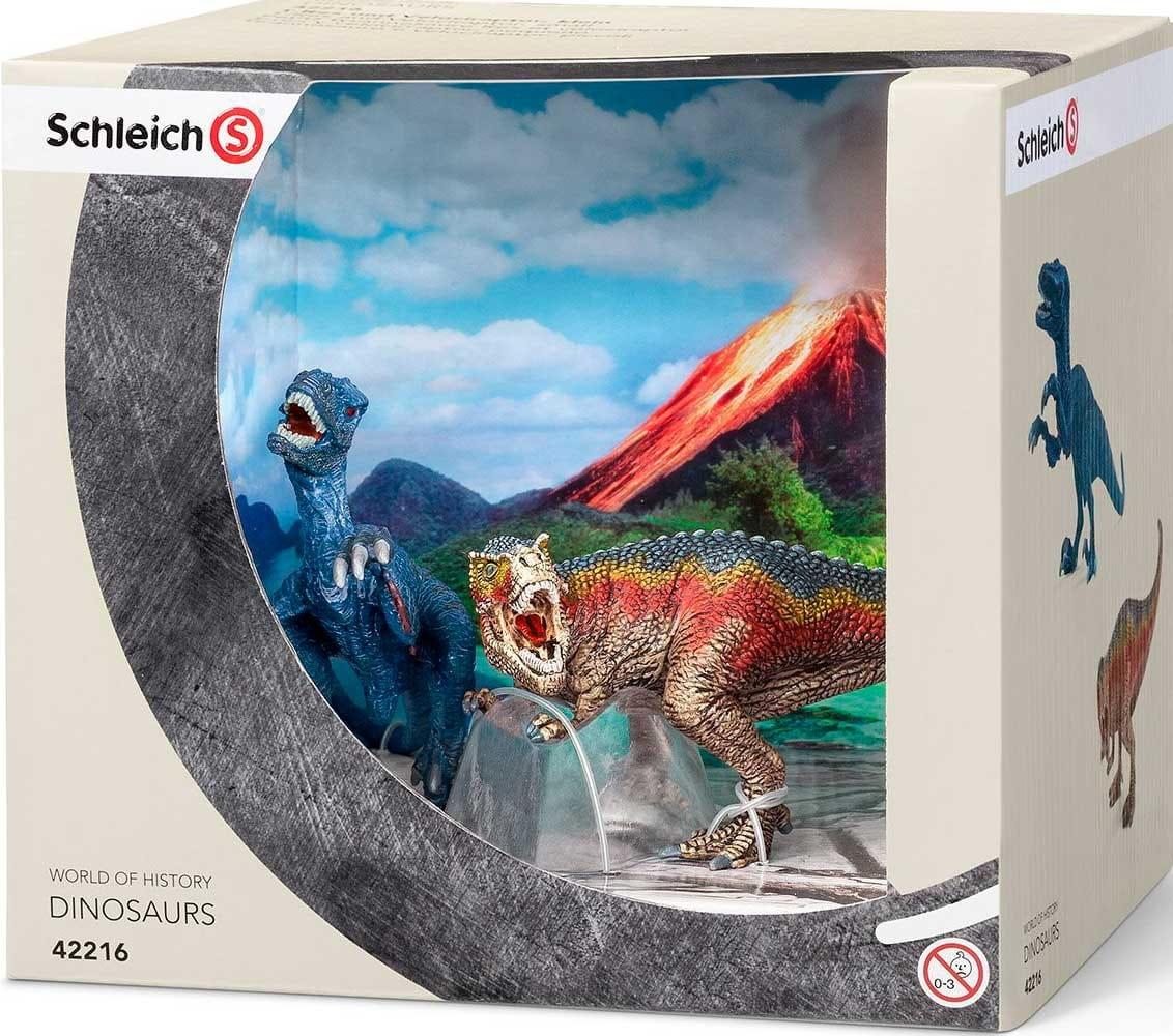 Набор Schleich Тираннозавр Рекс и Велоцераптор  мини - Фигурки животных