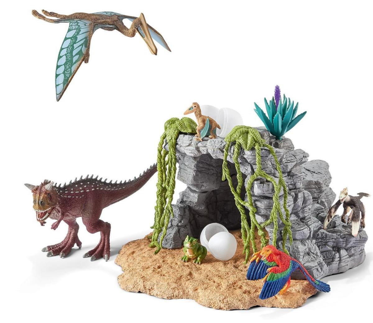Игровой набор Schleich Пещера с динозаврами - Фигурки животных
